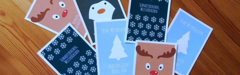 kostenloser Download Weihnachtskarten