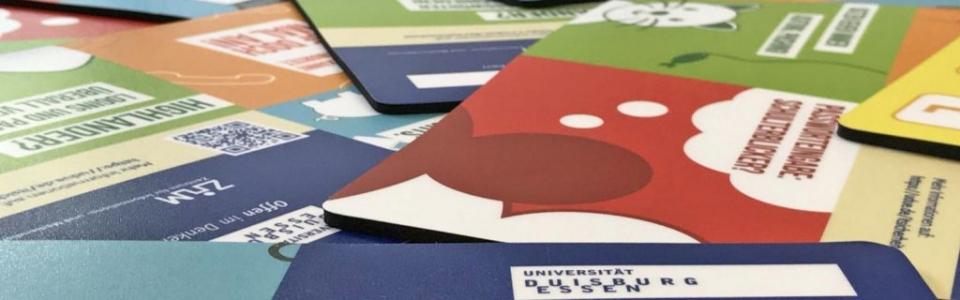 Mousepads zum Datenschutz für die Universität Duisburg-Essen