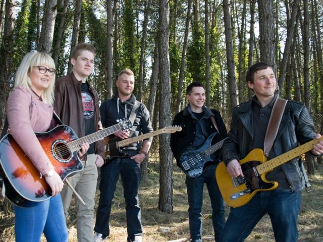 Fotoshooting Band Quarry Rockers