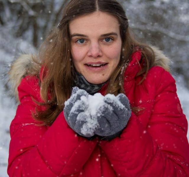 Portraitfotografie Eichstätt Schneeshooting Winterbilder