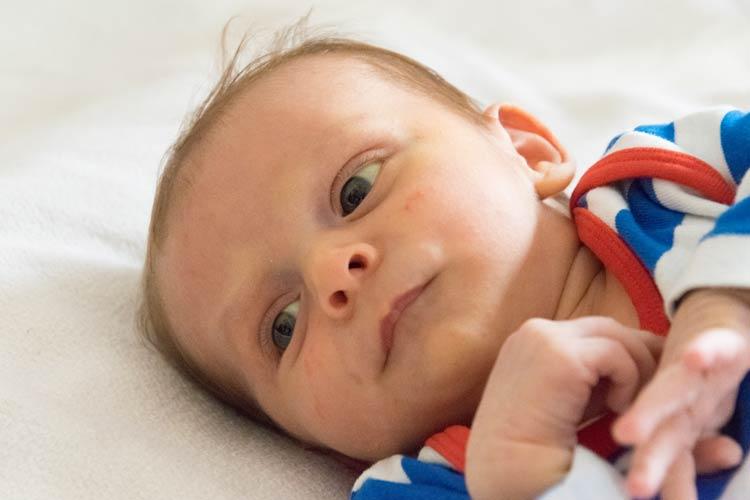 Babyfotografie Zuhause - Newbornshooting Eichstätt
