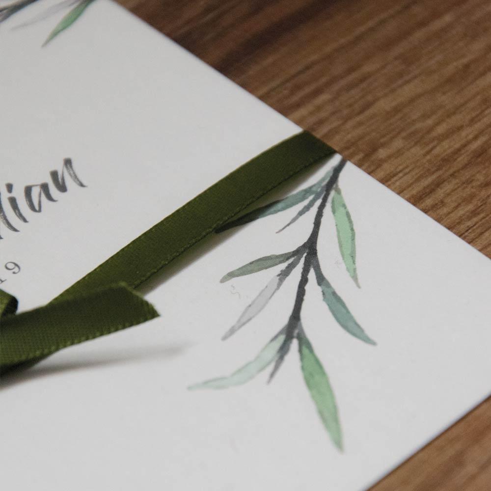 Hochzeitseinladung: Green Dream