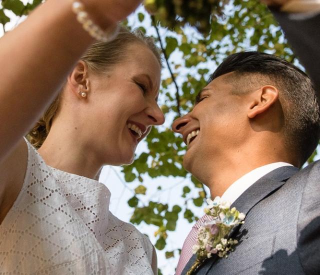 Außergewöhnliche Hochzeitsfotos in Eichstätt, Altmühltal