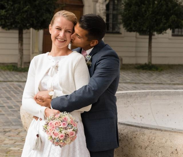 Hochzeitsfotos Eichstätt Residenzplatz Spiegelsaal
