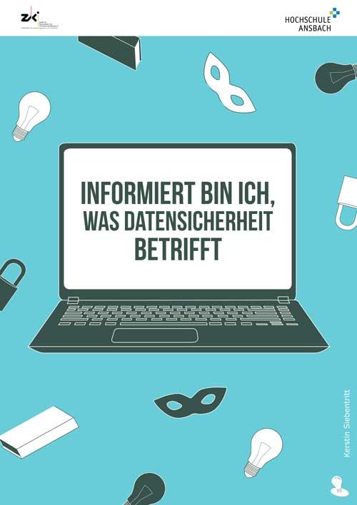 IT-Sicherheit durch Security Awareness Plakat Information
