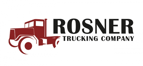 Logo Rosner Trucking Company